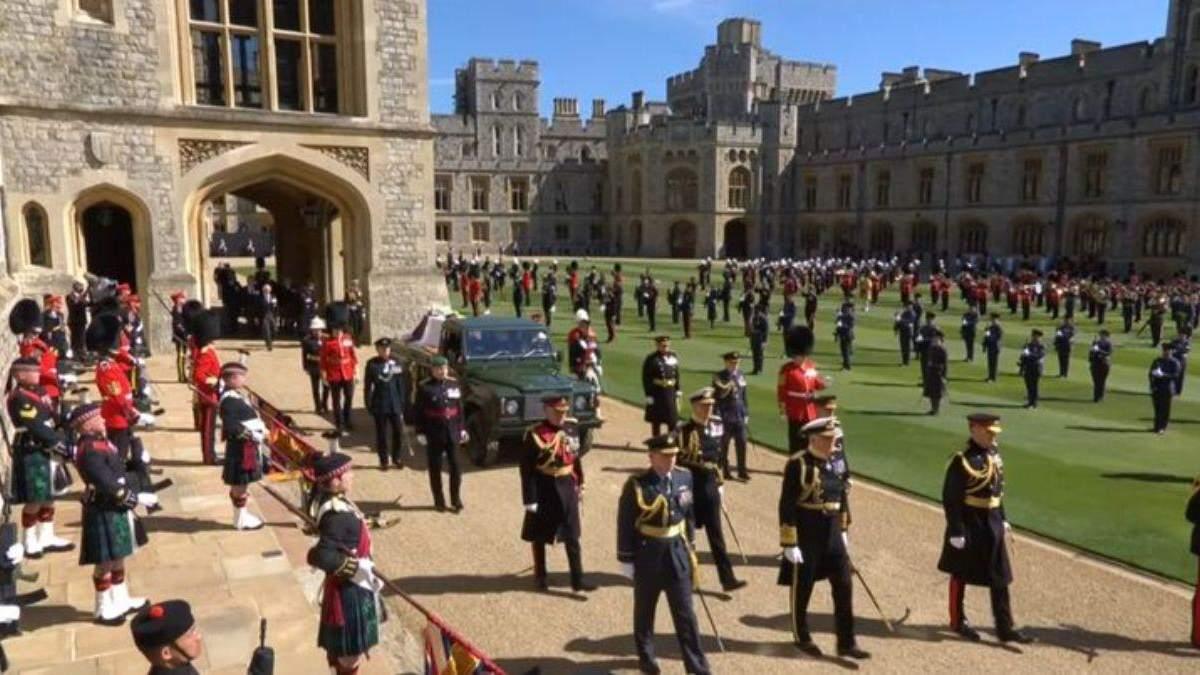 В Лондоне похоронили  принца Филиппа: как все происходило – фото, видео