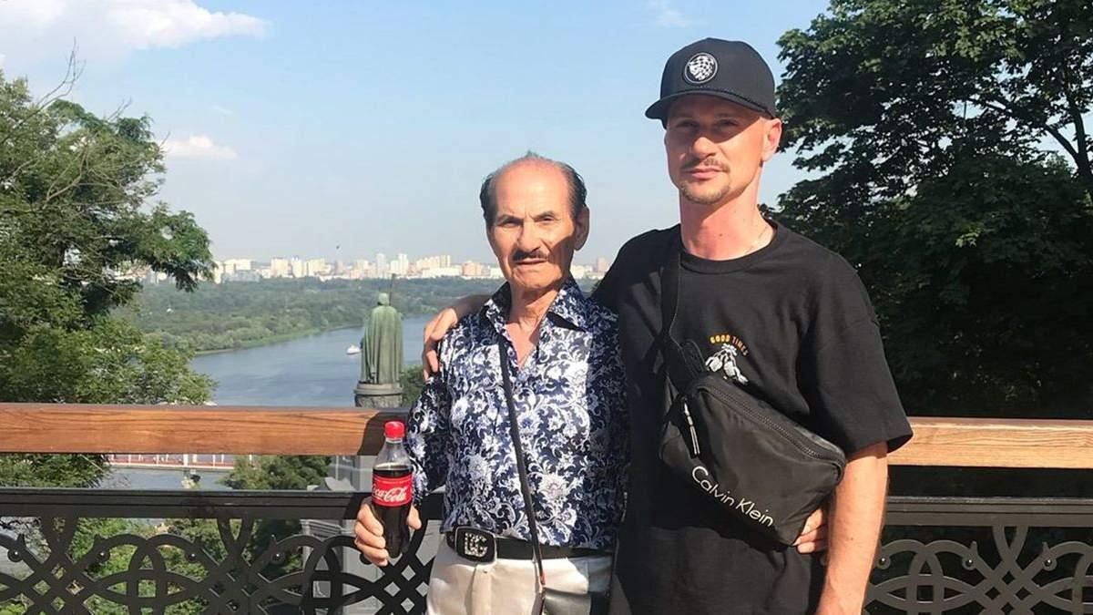Сын больного Чапкиса показал, как танцевал с ним в Киеве: видео