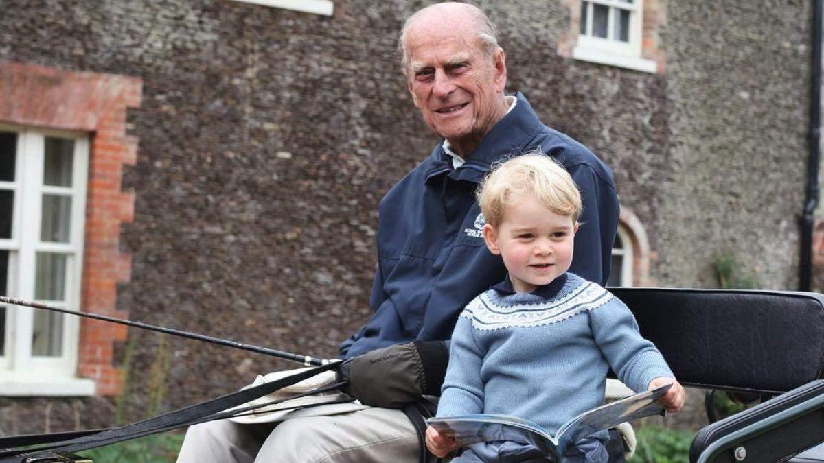 Принц Вільям відреагував на смерть дідуся принца Філіпа