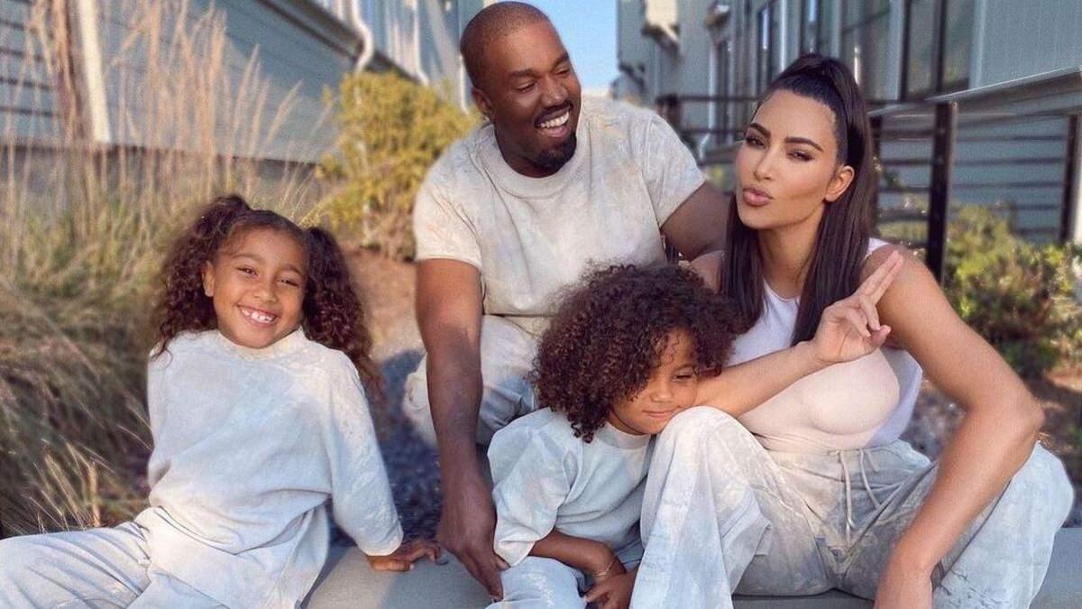 Канье Уэст хочет добиться совместной опеки над его детьми с Ким Кардашян