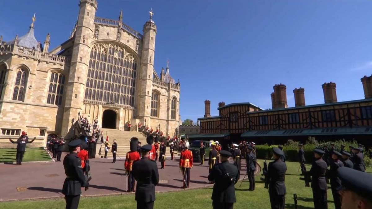 Похороны принца Филиппа в Лондоне: видео с церемонии прощания