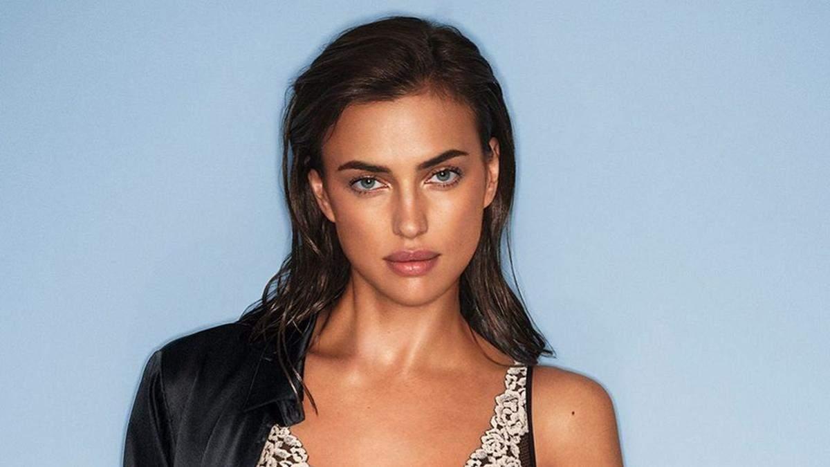 Ирина Шейк показала идеальное тело в соблазнительном белье Victoria's Secret