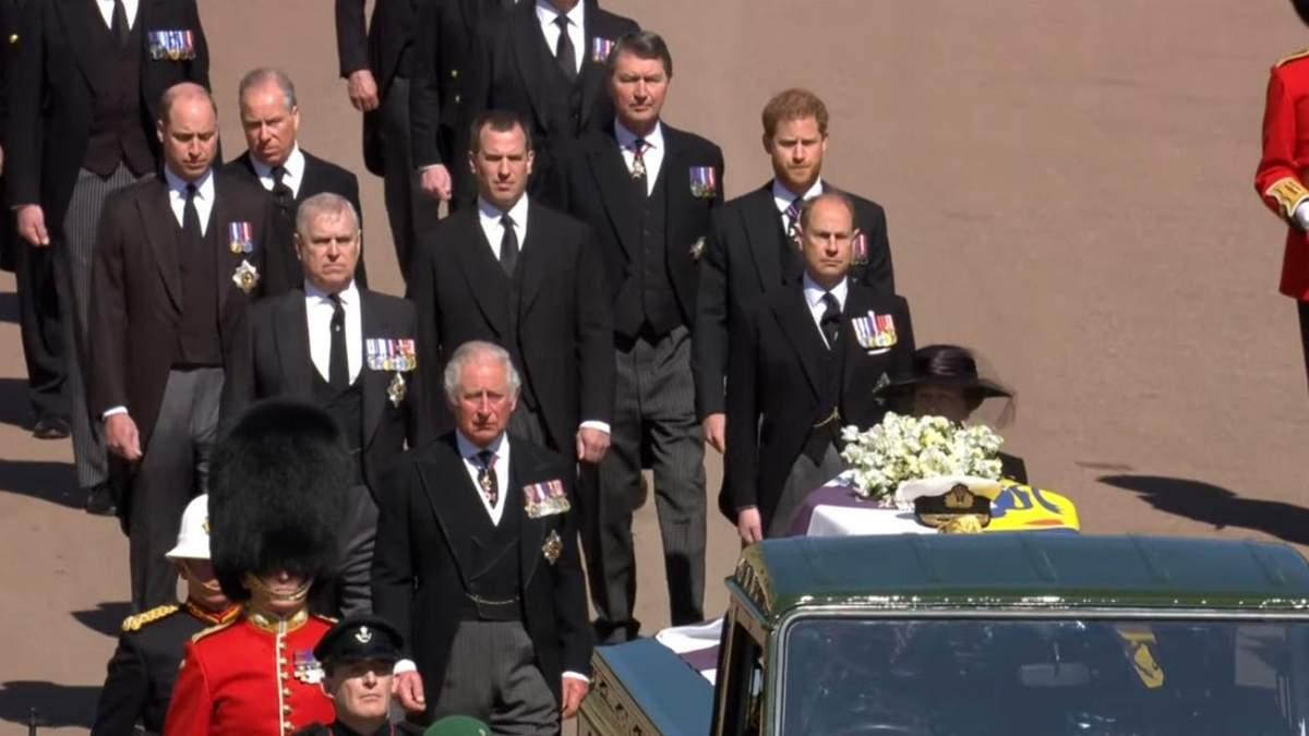 Похороны принца Филиппа: кто был из королевской семьи