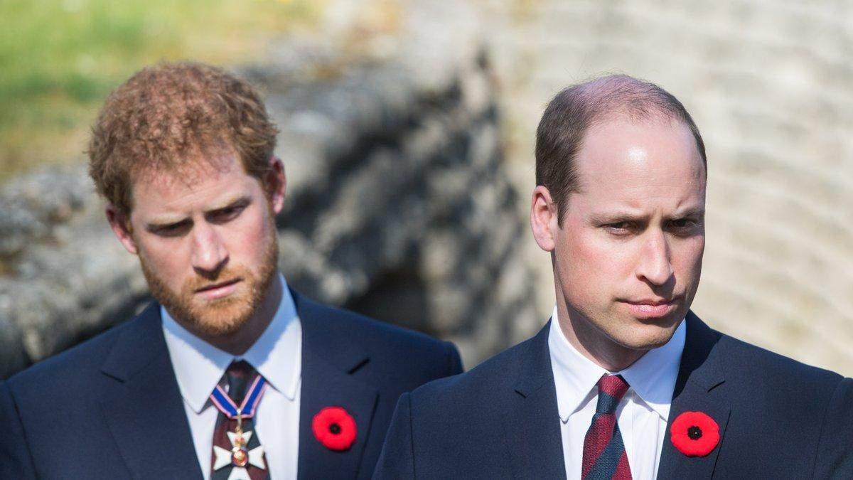 Принц Гарри не будет идти рядом с Уильямом на похоронах принца Филиппа