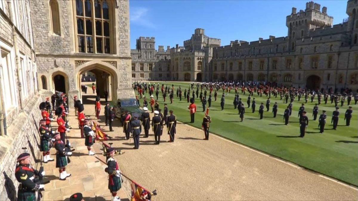 Похороны принца Филиппа смотрели 13,6 миллиона британцев