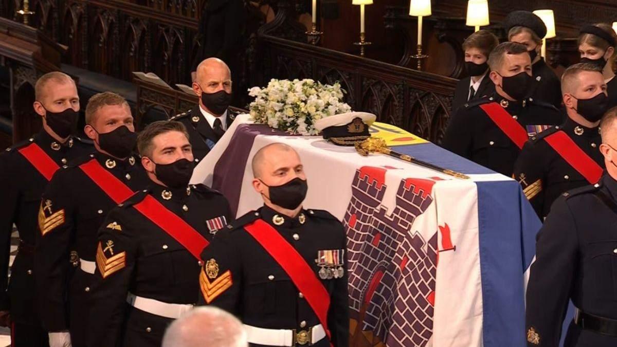Похороны принца Филиппа: катафалк Land Rover и личные вещи герцога, которые были на церемонии
