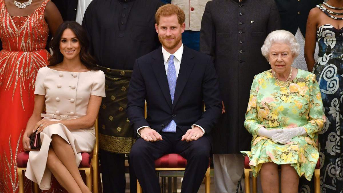 Меган Маркл провела розмову з Єлизаветою II перед похороном Філіпа