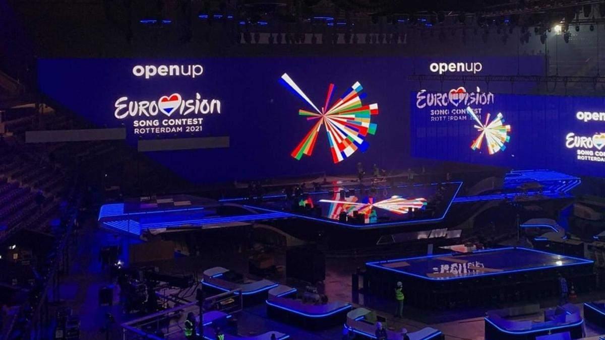Головна сцена Євробачення-2021: перші фото з Роттердама
