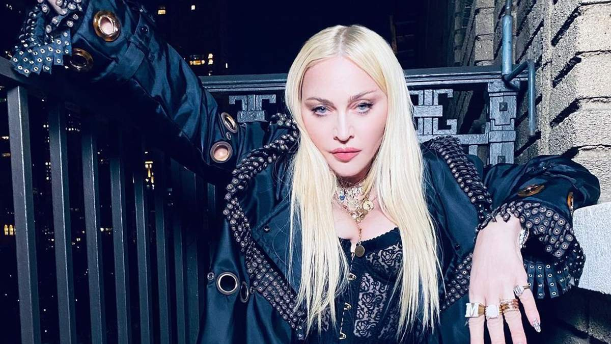 Мадонна показала великі груди у пікантному корсеті: фото та відео