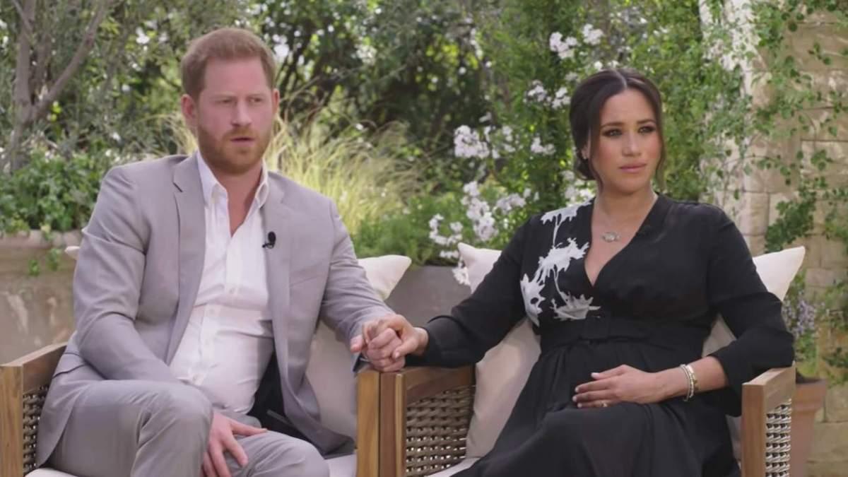 Опра Вінфрі висловилась про інтерв'ю принца Гаррі й Меган Маркл