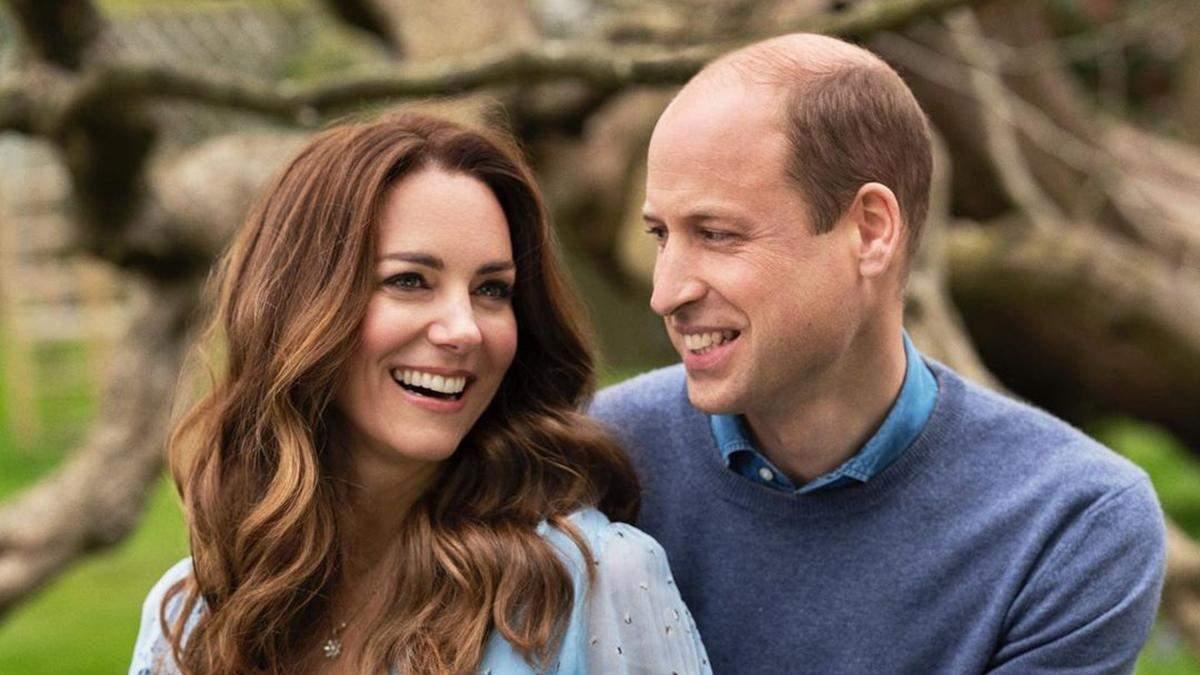 Кейт Міддлтон і принц Вільям святкують 10 річницю весілля: нові фото