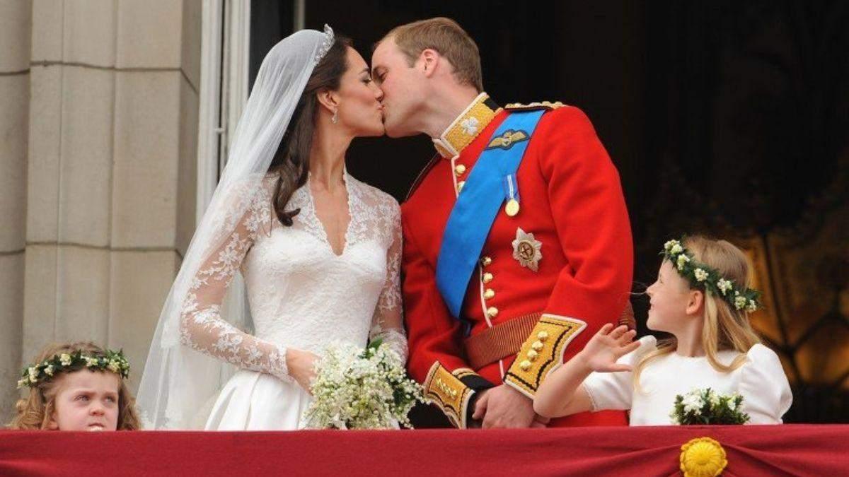 10 річниця весілля Кейт Міддлтон і принца Вільяма: історія кохання