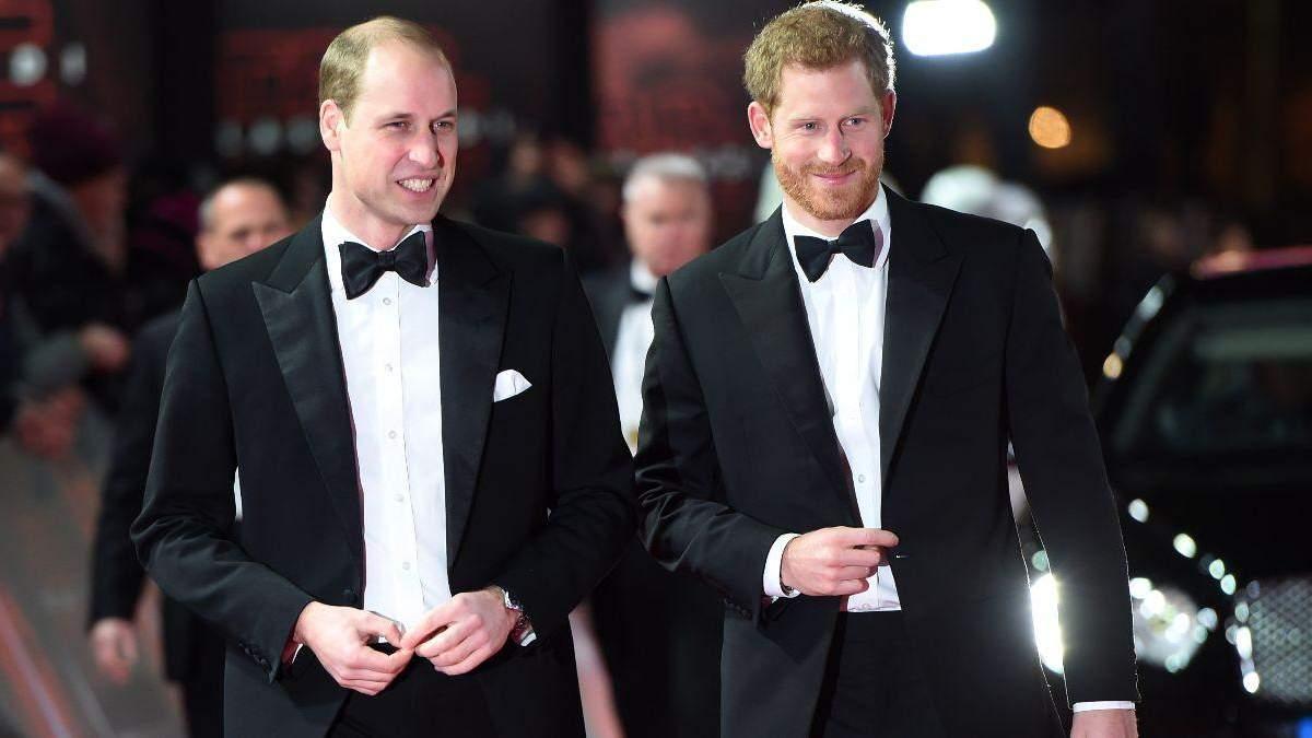 Принц Уильям в день свадьбы пошутил над принцем Гарри