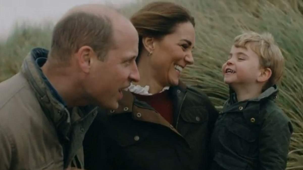 Принц Уильям и Кейт Миддлтон расстрогали сеть видео с детьми