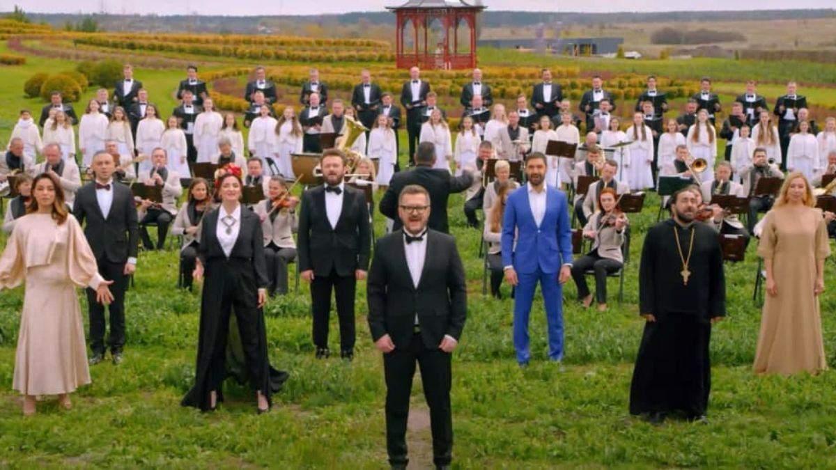 Украинские звезды записали песнопение Христос Воскрес! на 12 языках
