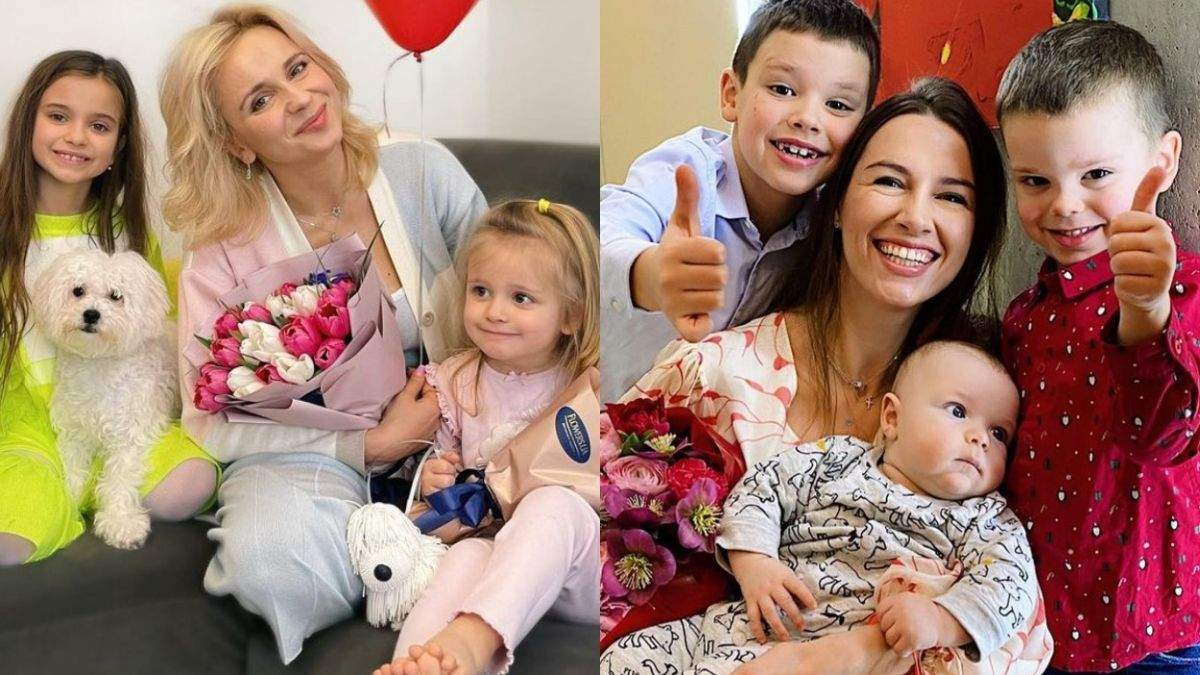 День матері 2021: найпопулярніші матусі українського шоу-бізнесу