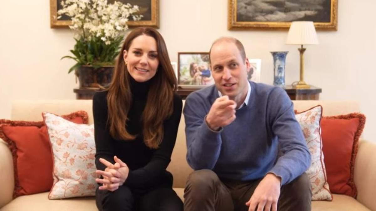 Кейт Міддлтон і принц Вільям запустили ютуб-канал