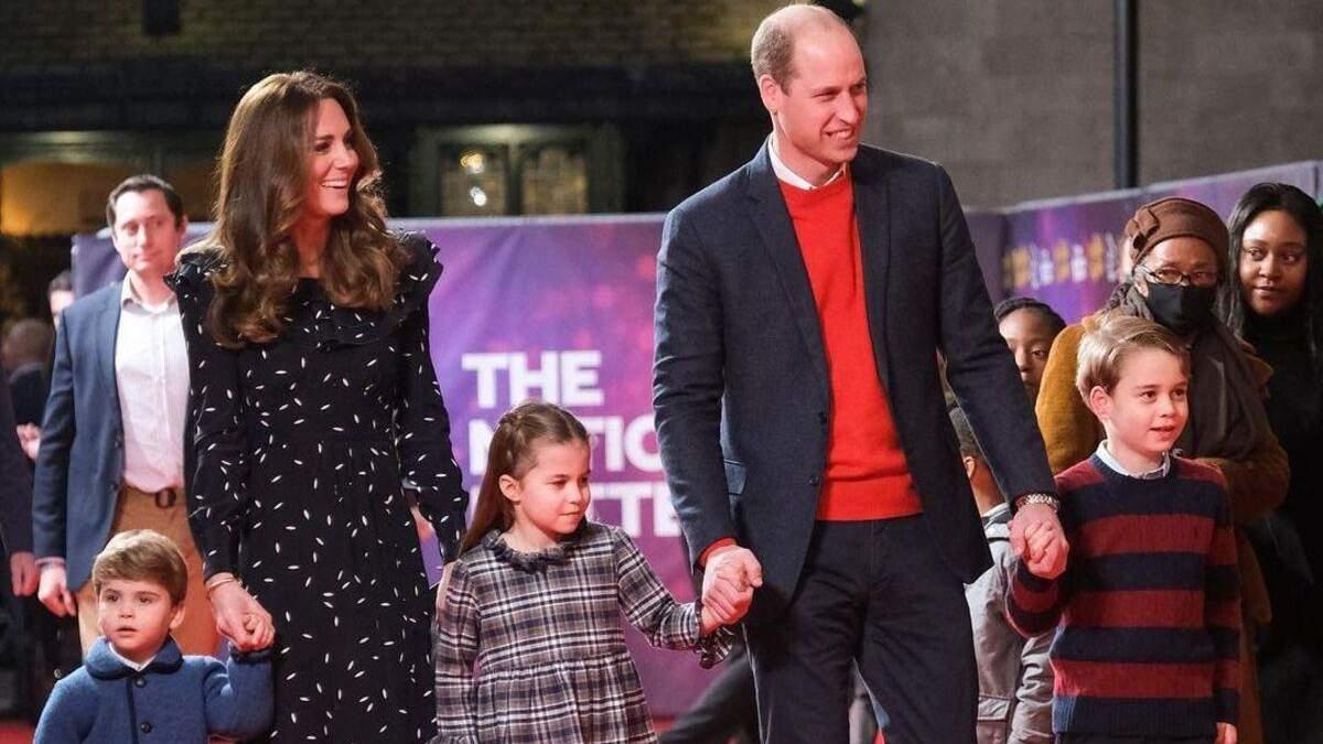 Принц Вільям розповів про характер доньки принцеси Шарлотти