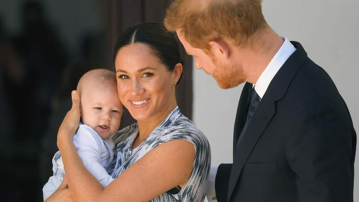 Принц Гарри и Меган поздравили сына Арчи и назвали прозвище