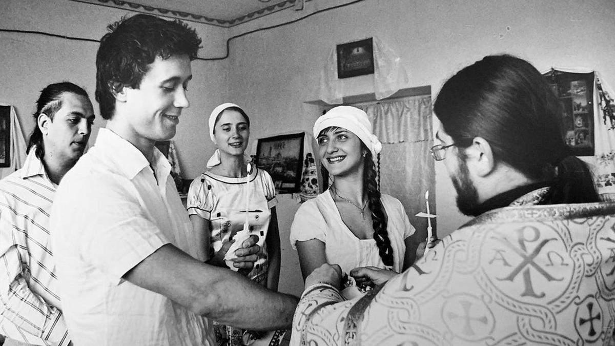 Сергей и Снежана Бабкины обвенчались, когда были в браке с другими