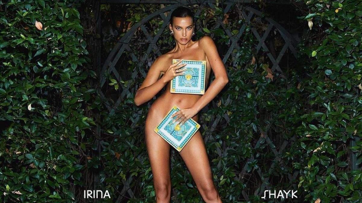 Ірина Шейк повністю оголила пишні груди: фото 18+