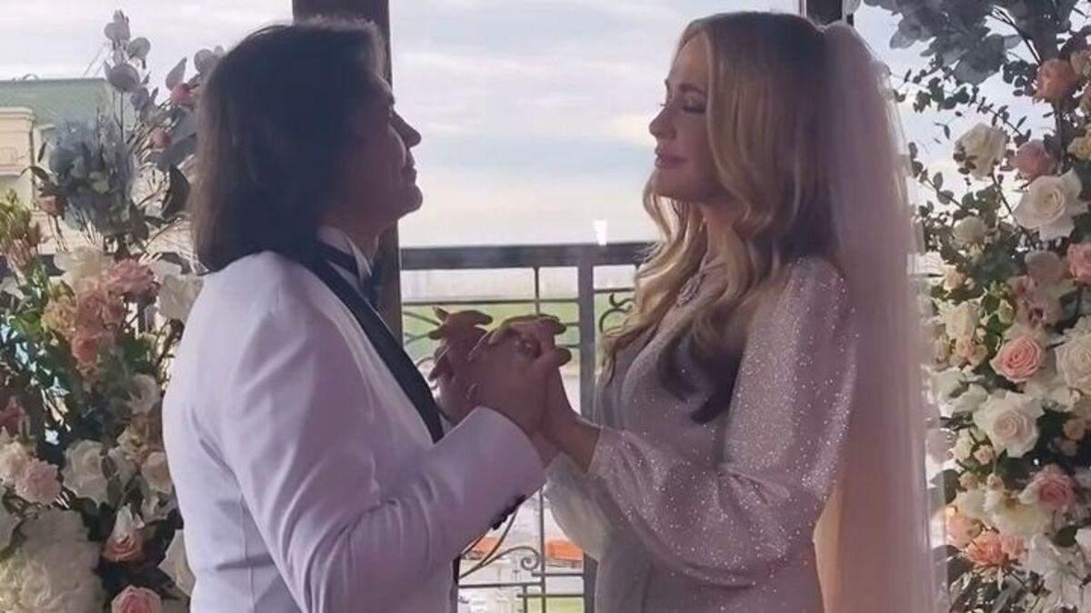 Ольга Сумская и Виталий Борисюк поженились во второй раз: фото