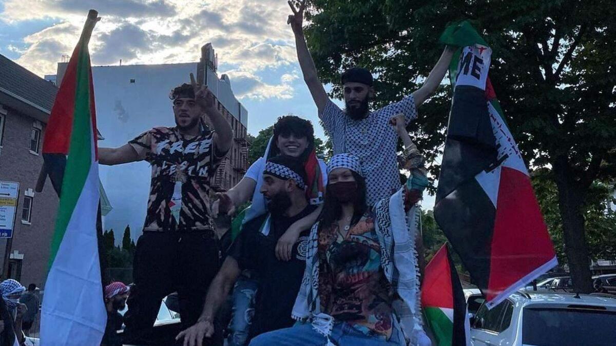 Белла Хадід взяла участь у мітингу на підтримку Палестини