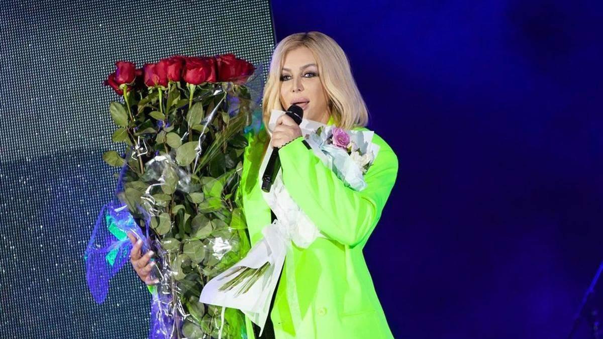 Ірина Білик відмовилася від участі в Слов'янському базарі