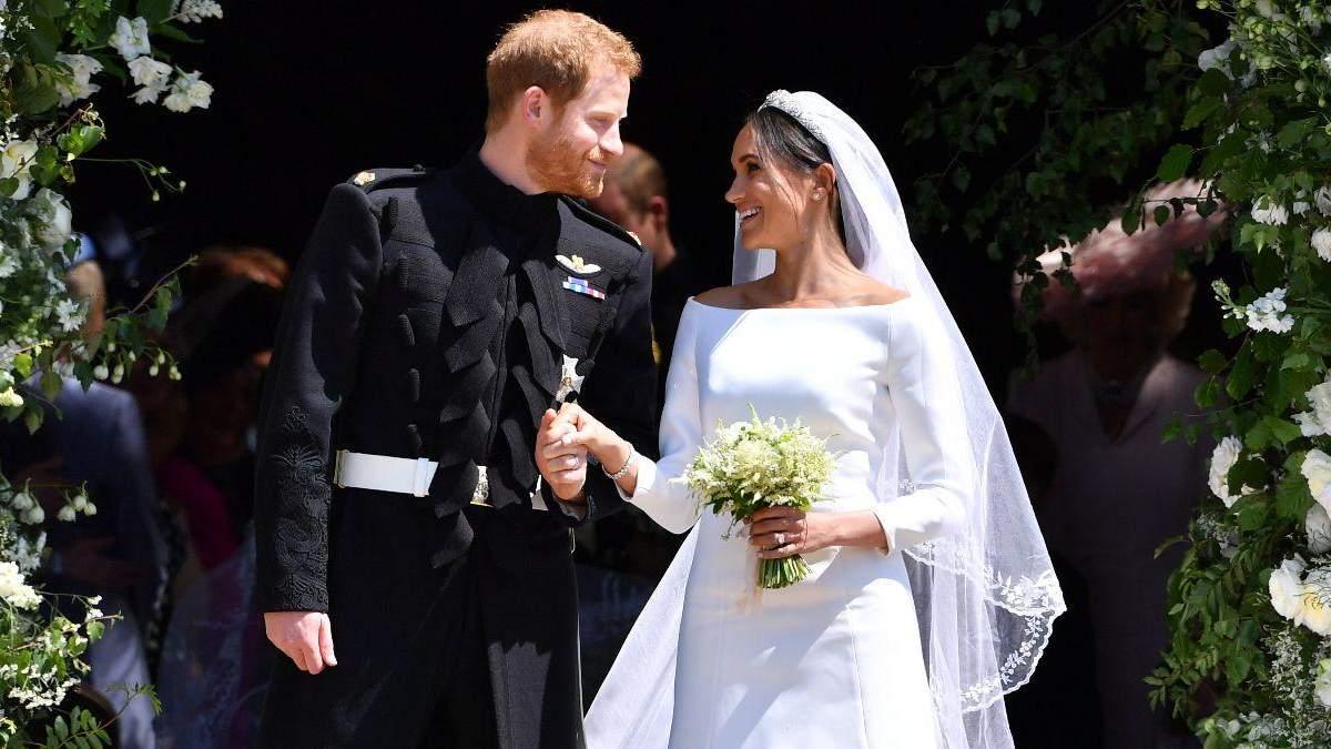 Меган Маркл і принц Гаррі святкують річницю весілля: фото подружжя