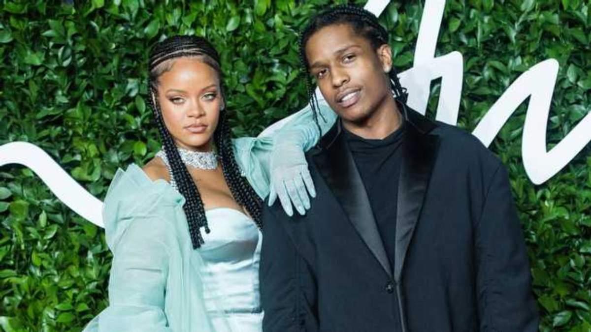 У Рианны роман с A$AP Rocky - официально