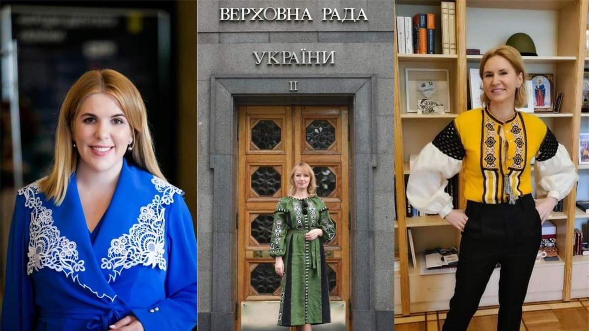 День вышиванки в Раде: образы депутаток