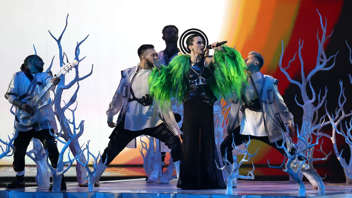 Украина - вторая в зрительском голосовании Евровидение-2021