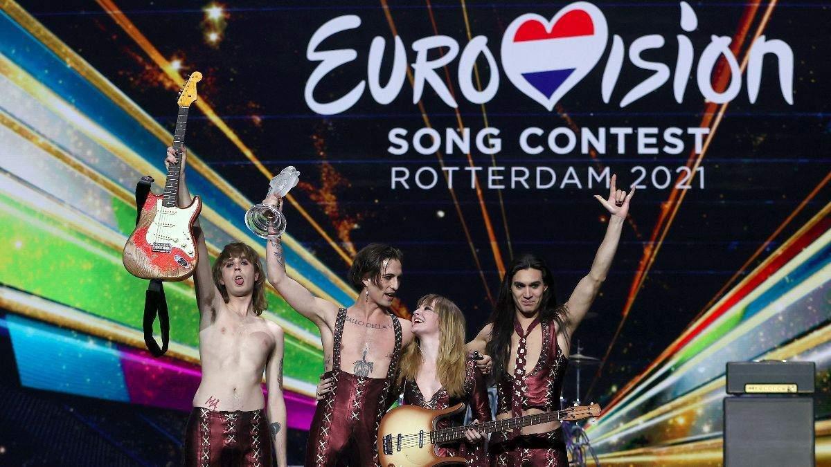 Måneskin з Італії відреагували на перемогу в Євробаченні-2021