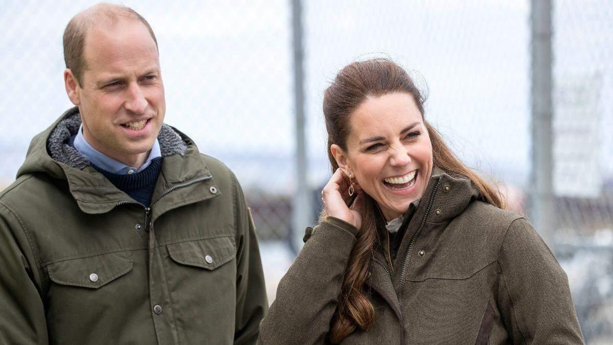 Кейт Міддлтон і принц Вільям у повсякденних образах у Шотландії: фото