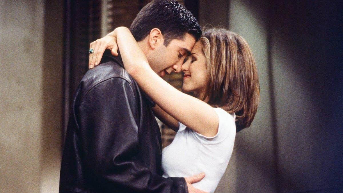 Дженнифер Энистон и Дэвид Швиммер были влюбленными на съемках Друзей