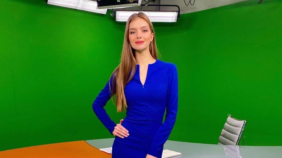 Дружина Дмитра Комарова показала фігуру в елегантній сукні: фото