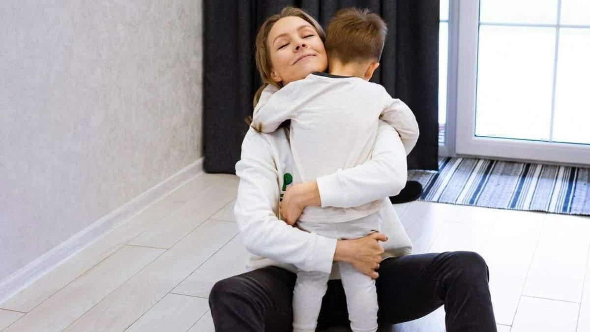 Олена Шоптенко зворушливо привітала сина з 3-річчям