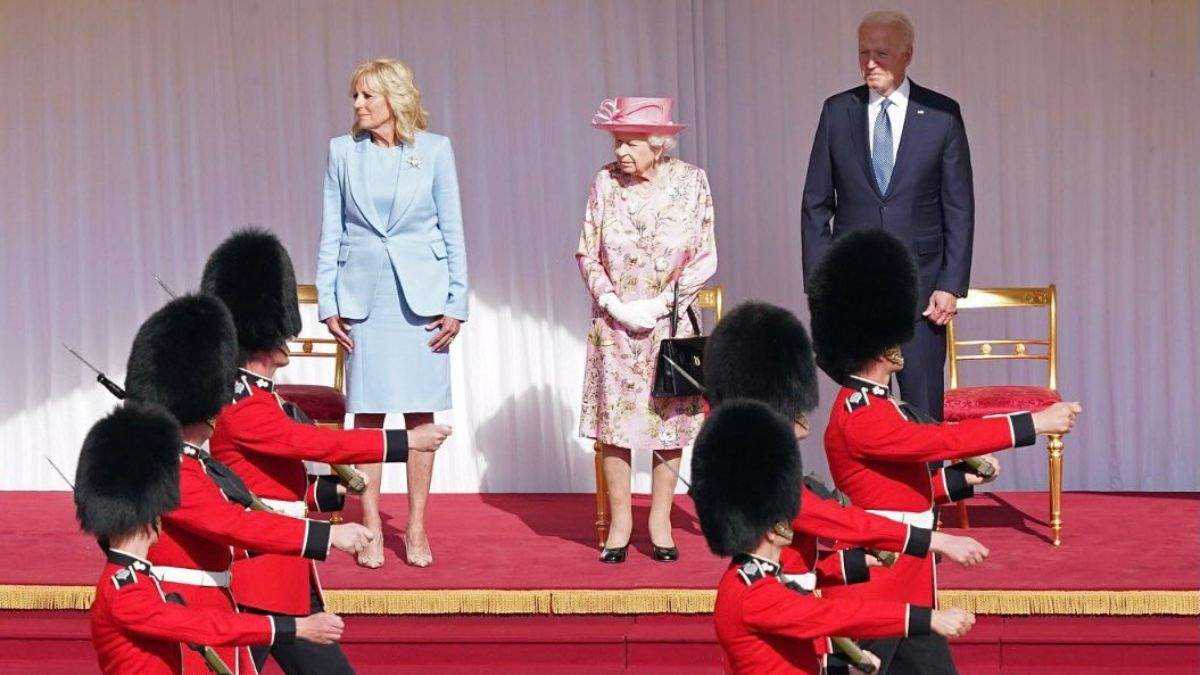 Джо Байден розповів про зустріч з Єлизаветою II