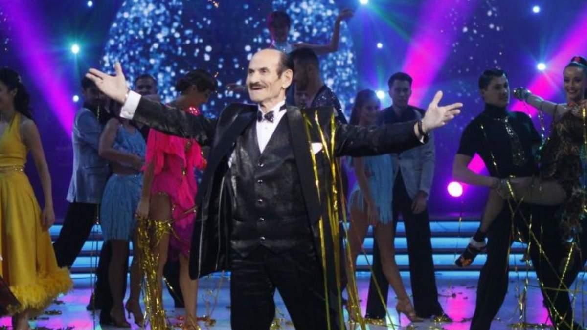 Григорій Чапкіс танцює і гопак, і танго: відео