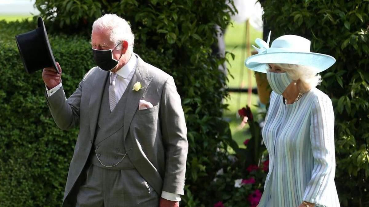 Принц Чарльз з Каміллою завітали на кінні перегони Royal Ascot