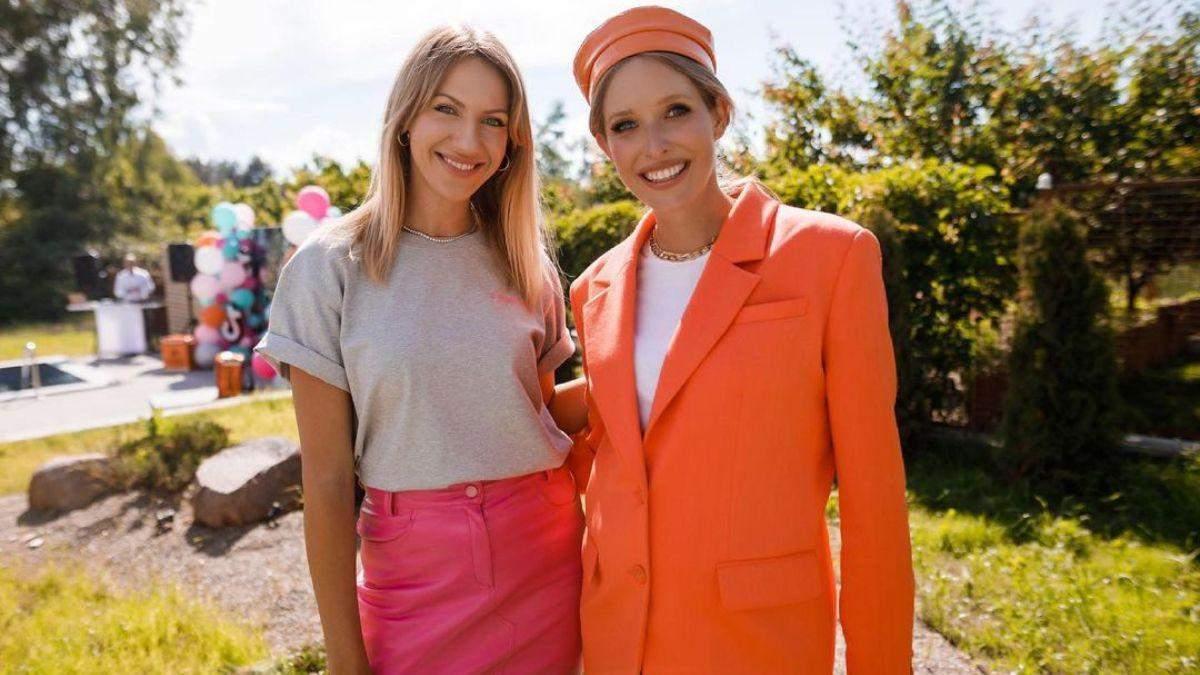 Катя Осадча приголомшила образом у помаранчевому піджаку: фото