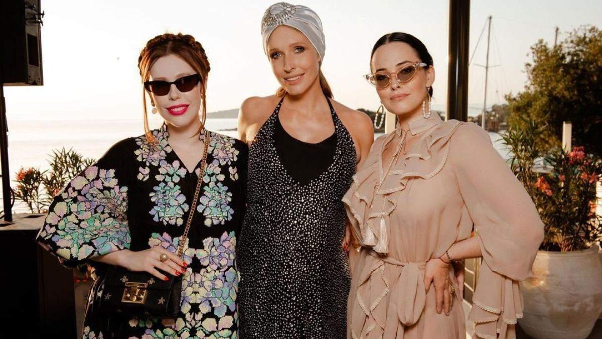 Катя Осадча вразила образом у блискучій сукні: фото з Туреччини