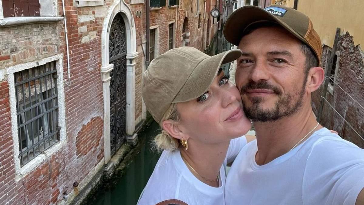 Кэти Перри и Орландо Блум поехали в Италию: романтические фото