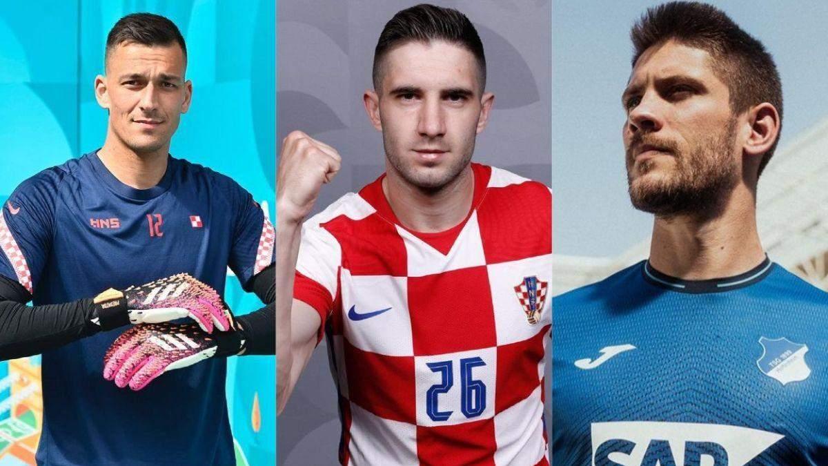 Футболісти збірної Хорватії на Євро-2020: фото