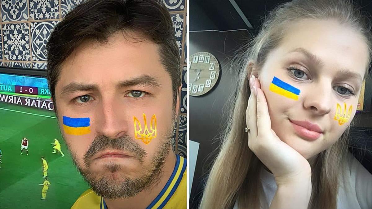 Маска от Сергея Притулы в Instagram – эффектный способ поддержать сборную Украины