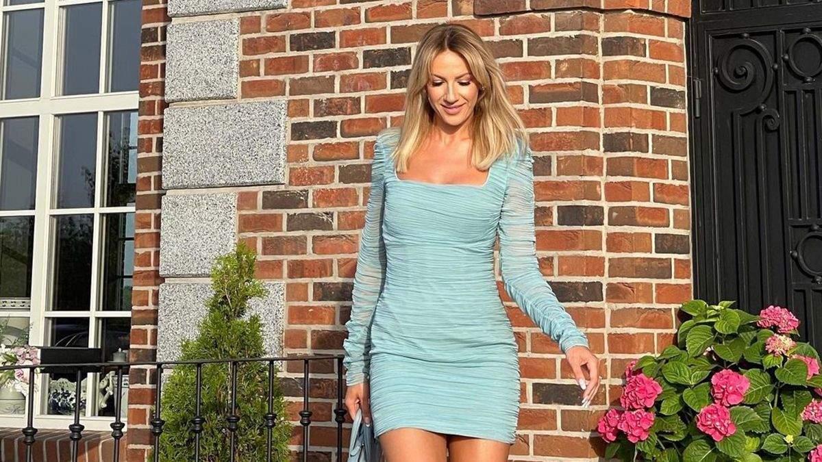 Леся Никитюк появилась на дне рождении Притулы: фото в миниплатье