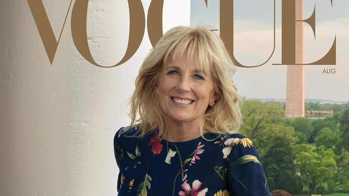 Джилл Байден украсила обложку Vogue: фото