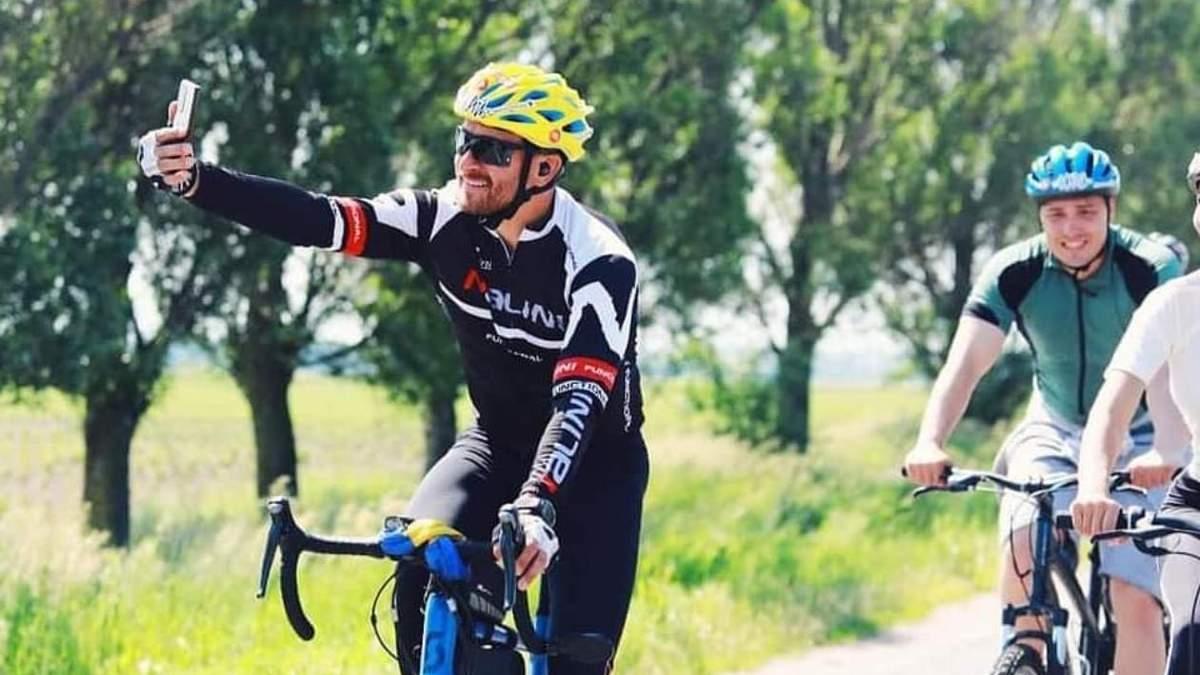Олег Собчук провел велотур Украиной