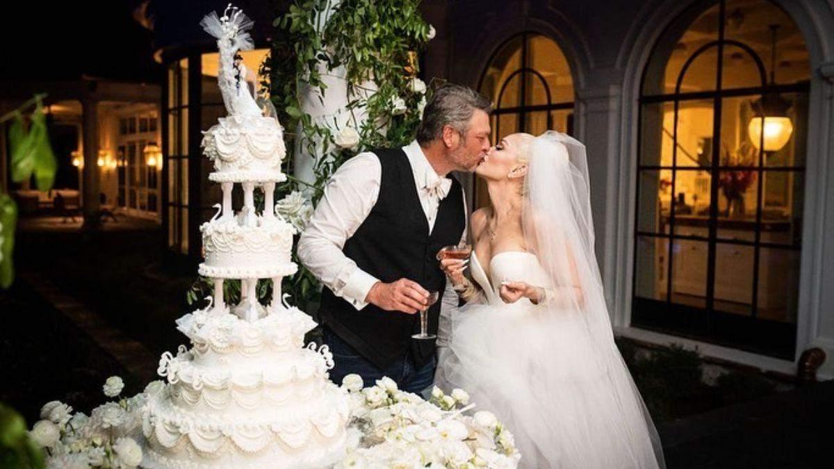 Гвен Стефані показала, яким було таємне весілля: фото