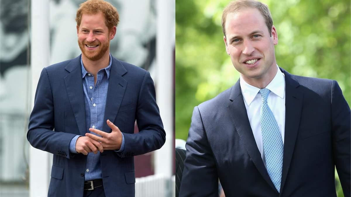 О чем говорили принцы Гарри и Уильям в Лондоне
